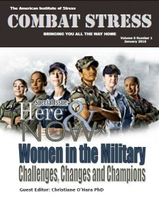 January 2016 Combat Stress Cover
