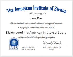 DAIS certificate