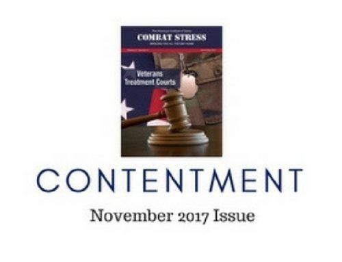 Veterans Treatment Courts: Combat Stress – November 2017 Issue