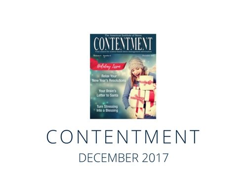 Contentment Magazine: December 2017 Issue