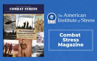 Spring 2019 Combat Stress Cover